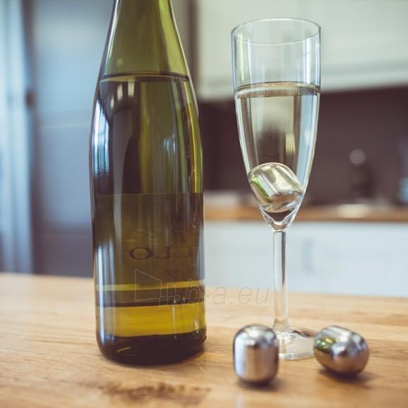 Nerūdijančio plieno vyno šaldymo rutuliukai Paveikslėlis 3 iš 5 310820012547