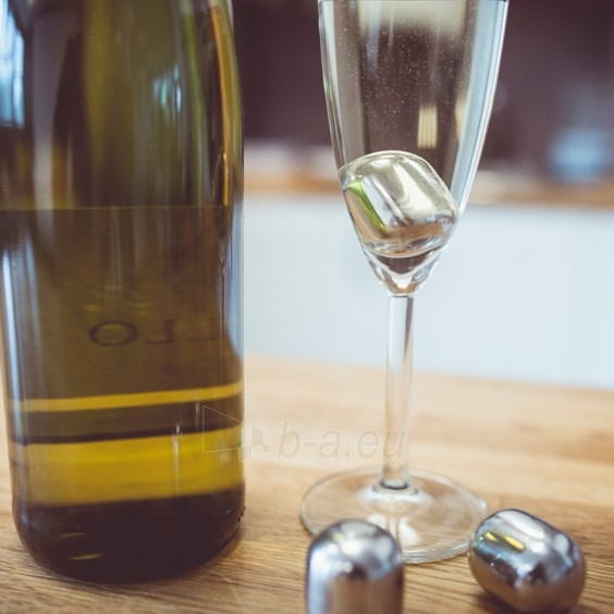 Nerūdijančio plieno vyno šaldymo rutuliukai Paveikslėlis 4 iš 5 310820012547