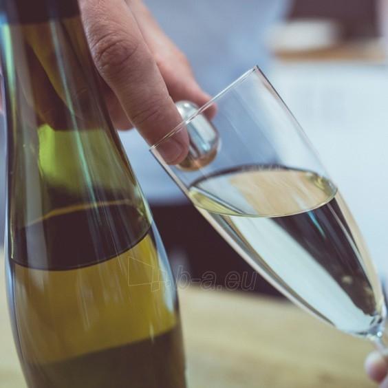 Nerūdijančio plieno vyno šaldymo rutuliukai Paveikslėlis 5 iš 5 310820012547