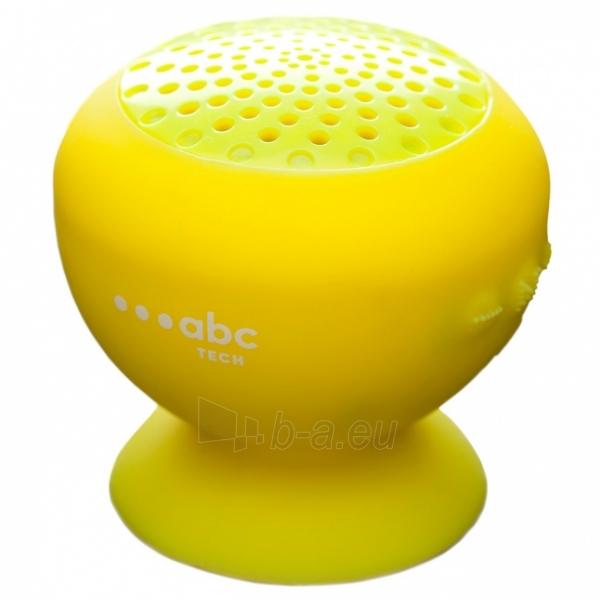 Nešiojama garso kolonėlė ABC TECH 134608 ABC Tech Speaker Waterproof Yellow (Yellow) Paveikslėlis 1 iš 1 310820114475