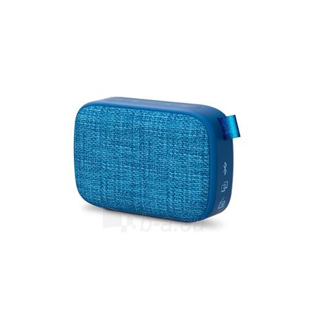 Nešiojama garso kolonėlė Energy Sistem Fabric Box 1+ Pocket 3 W, Portable, Wireless connection, Blueberry, Bluetooth Paveikslėlis 1 iš 5 310820221528