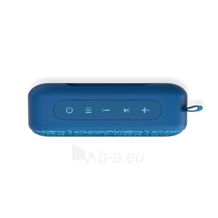 Nešiojama garso kolonėlė Energy Sistem Fabric Box 1+ Pocket 3 W, Portable, Wireless connection, Blueberry, Bluetooth Paveikslėlis 2 iš 5 310820221528