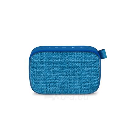 Nešiojama garso kolonėlė Energy Sistem Fabric Box 1+ Pocket 3 W, Portable, Wireless connection, Blueberry, Bluetooth Paveikslėlis 4 iš 5 310820221528