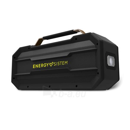 Nešiojama garso kolonėlė Energy Sistem Portable Speaker Outdoor Box Street Bluetooth, Wireless connection, Black Paveikslėlis 3 iš 4 310820221655