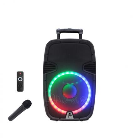 Nešiojama garso kolonėlė iDance Groove 1000 1000 W, Portable, Black, Bluetooth Paveikslėlis 1 iš 4 310820162616