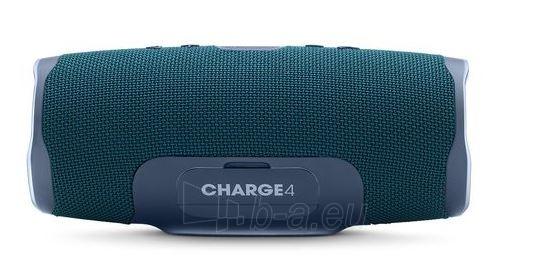 Nešiojama garso kolonėlė JBL Charge 4 blue Paveikslėlis 2 iš 7 310820167589
