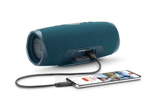 Nešiojama garso kolonėlė JBL Charge 4 blue Paveikslėlis 6 iš 7 310820167589