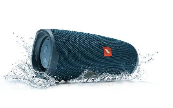 Nešiojama garso kolonėlė JBL Charge 4 blue Paveikslėlis 7 iš 7 310820167589