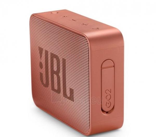 Nešiojama garso kolonėlė JBL GO 2 cinnamon Paveikslėlis 4 iš 6 310820167500