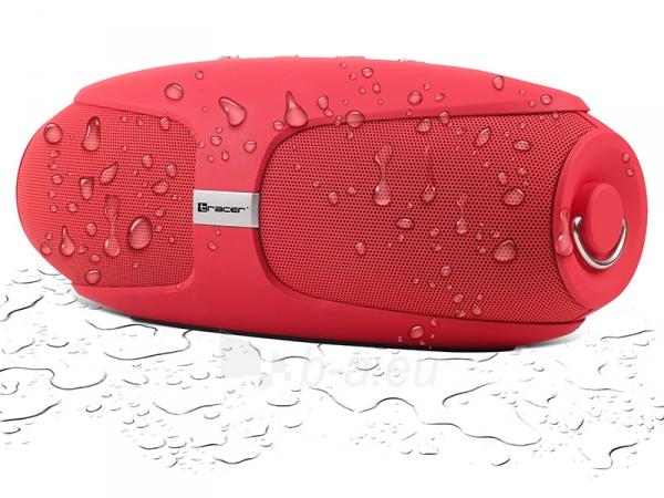 Nešiojama garso kolonėlė Tracer Wrap BT red 46256 Paveikslėlis 3 iš 4 310820215461