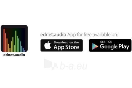 Nešiojama kolonėlė EDNET SONAR II LED Bluetooth® Speaker, 7W, 2200mAh, IPX4 Paveikslėlis 6 iš 6 310820053899