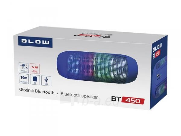 Nešiojama kolonėlė Glosnik Bluetooth BT450-TN Paveikslėlis 2 iš 4 310820146128