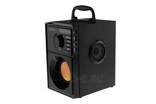 Nešiojama kolonėlė MediaTech Boombox BT MT3145, BT2.1, 15W RMS, MP3, FM Paveikslėlis 1 iš 4 250255800593
