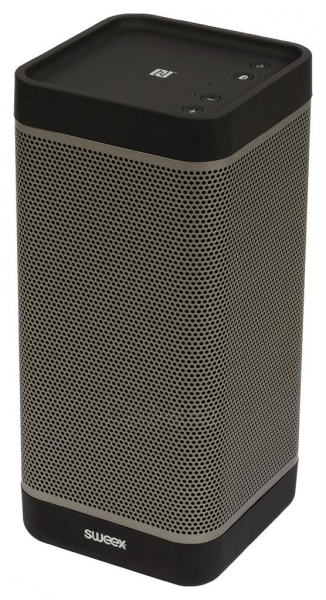 Nešiojama kolonėlė Sweex Voyager, BT3.0, NFC, 20W, Juoda Paveikslėlis 4 iš 6 310820037363