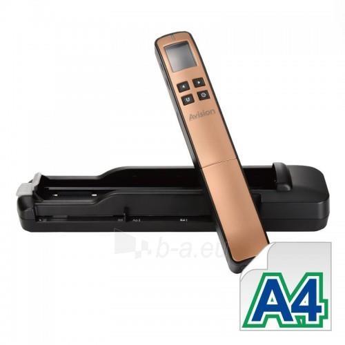 Nešiojamas dokumentų skeneris Avision MiWand 2 L Pro gold A4/color/600dpi Paveikslėlis 2 iš 5 310820014571
