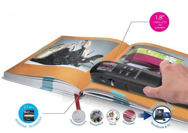 Nešiojamas dokumentų skeneris Avision MiWand 2 L Pro gold A4/color/600dpi Paveikslėlis 3 iš 5 310820014571