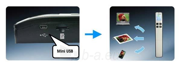 Nešiojamas dokumentų skeneris Avision MiWand 2 L Pro gold A4/color/600dpi Paveikslėlis 4 iš 5 310820014571