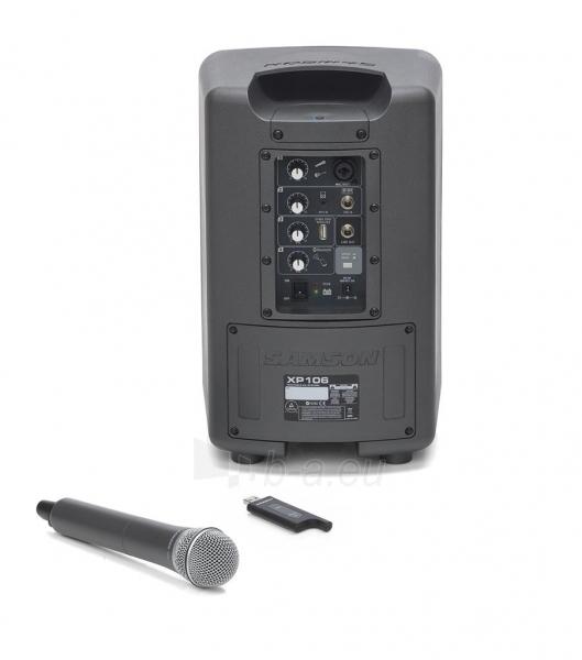 Nešiojamas garsiakalbis SAMSON Expedition XP106w | XPD1 | 4.6kg | Bluetooth Paveikslėlis 3 iš 8 250214000673