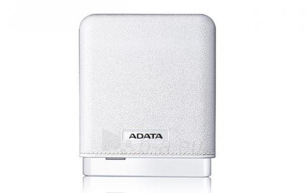 Nešiojamas įkroviklis Adata PV150 power bank 10000mAh, Baltas Paveikslėlis 2 iš 4 310820014361