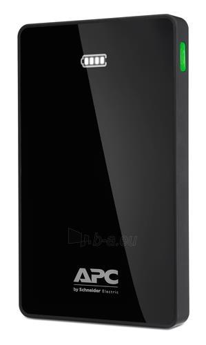 APC Mobile Power Bank, 10000mAh Li-polymer (for smatphones, tablets) Black Paveikslėlis 1 iš 2 250254100735