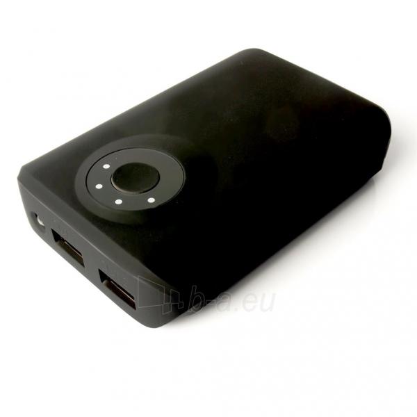 Nešiojamas įkroviklis PowerNeed PowerBank 8400mAh, USB2.1A - planš. komp., telef., black Paveikslėlis 2 iš 6 250232002650