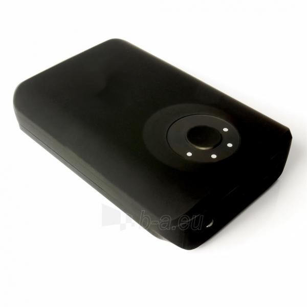 Nešiojamas įkroviklis PowerNeed PowerBank 8400mAh, USB2.1A - planš. komp., telef., black Paveikslėlis 3 iš 6 250232002650
