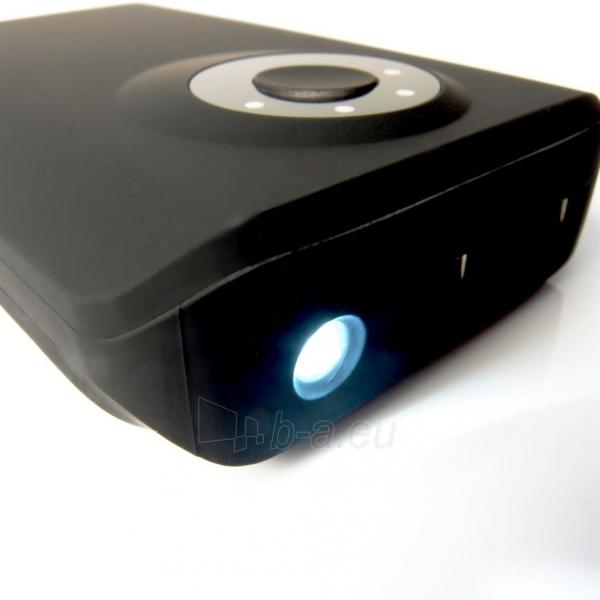 Nešiojamas įkroviklis PowerNeed PowerBank 8400mAh, USB2.1A - planš. komp., telef., black Paveikslėlis 5 iš 6 250232002650