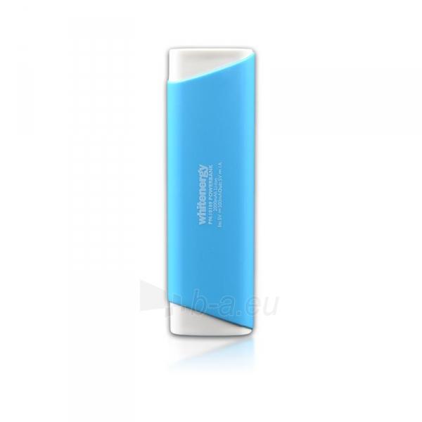 Nešiojamas įkroviklis Whitenergy power bank 2000mAh 1A, Mėlynas Paveikslėlis 3 iš 3 310820005365