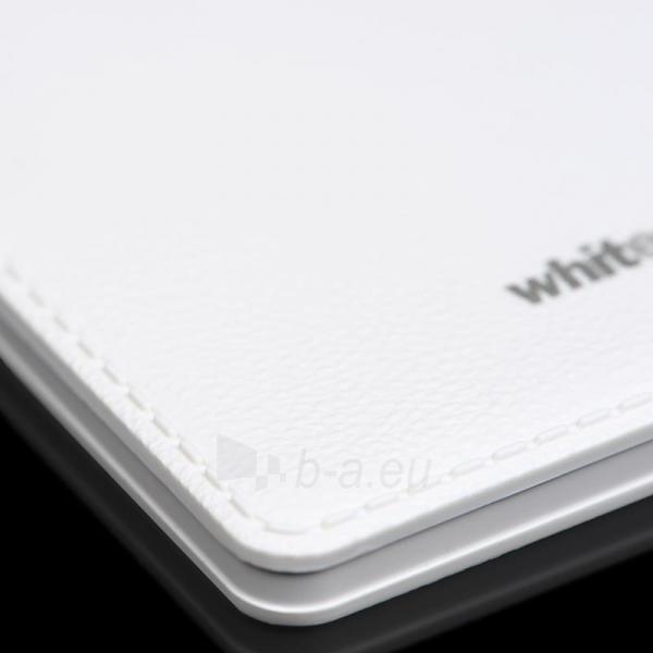 Nešiojamas įkroviklis Whitenergy power bank 2500mAh 1A, Baltas Paveikslėlis 2 iš 5 310820005372