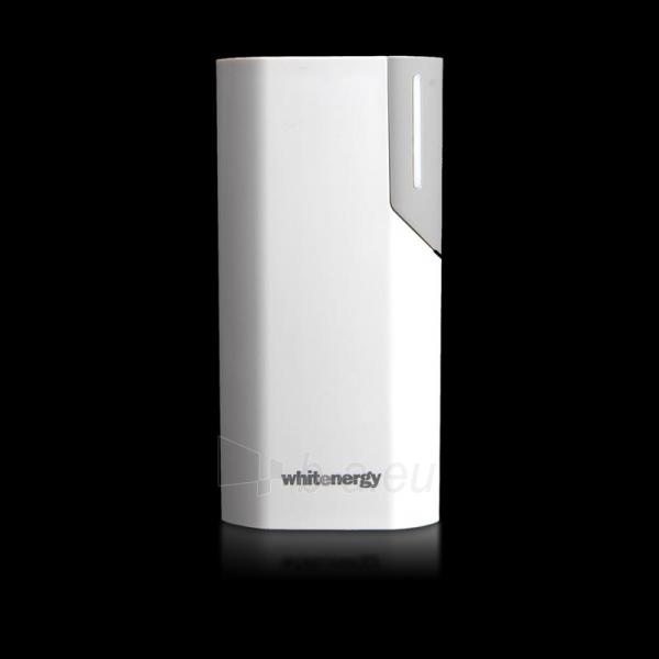 Nešiojamas įkroviklis Whitenergy power bank 4000mAh 1A, Baltas/Pilkas Paveikslėlis 4 iš 6 310820005374
