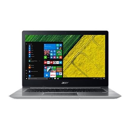 "Nešiojamas kompiuteris Acer Swift 3 SF315-51 Silver, 15.6 "", Full HD, 1920 x 1080 pixels, Intel Core i5, i5-7200U, 8 GB, DDR4, SSD 256 GB, Intel HD, No Optical drive, Windows 10 Home, 802.11ac, Bluetooth version 4.0, Keyboard language Nordic, Keyboa Paveikslėlis 1 iš 4 310820119362"