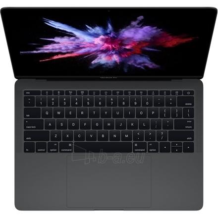 "Nešiojamas kompiuteris Apple MacBook Pro Space Gray, 13.3 "", Retina IPS, 2560 x 1600 pixels, Intel Core i5, 8 GB, LPDDR3 onboard, SSD 256 GB, Intel HD, Without ODD, macOS Sierra, 802.11 ac, Bluetooth version 4.2, Keyboard language Russian, Keyboard  Paveikslėlis 1 iš 2 310820100450"