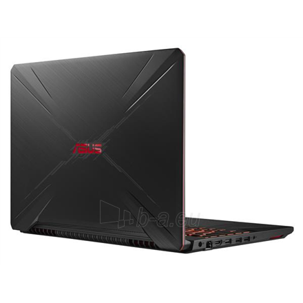 "Nešiojamas kompiuteris Asus FX Series (Gaming) FX505GE Black Plastic, 15.6 "", IPS, FHD, 1920 x 1080 pixels, Matt, Intel Core i5, i5-8300H, 8 GB, DDR4, 5400 RPM, SSD 128 GB, Hybrid HDD 1000 GB, NVIDIA GeForce GTX 1050 Ti, GDDR5, 4 GB, Windows 10 Home Paveikslėlis 1 iš 4 310820159769"
