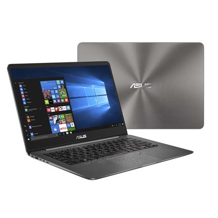 "Nešiojamas kompiuteris Asus ZenBook UX430UA Grey, 14.0 "", IPS, FHD, 1920 x 1080 pixels, Matt, Intel Core i5, i5-8250U, 8 GB, DDR3 onboard, SSD 512 GB, Intel HD, Without ODD, Windows 10 Home, 802.11 ac, Bluetooth version 4.1, Keyboard language Englis Paveikslėlis 1 iš 4 310820136868"