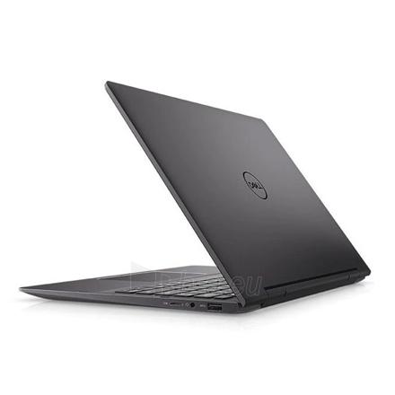 "Nešiojamas kompiuteris Dell Inspiron 13 7391 2in1 Black, 13.3 "", IPS, Touchscreen, Full HD, 1920 x 1080, Intel Core i7, i7-10510U, 8 GB, onboard, LPDDR3, 2133MHz, SSD 512 GB, Intel UHD, Windows 10 Home, 802.11ac, Bluetooth version 5.0, Keyboard lang Paveikslėlis 2 iš 2 310820213067"