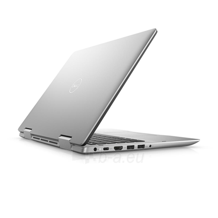 "Nešiojamas kompiuteris Dell Inspiron 14 5482 Silver, 14 "", IPS, Touchscreen, Full HD, 1920 x 1080 pixels, Intel Core i3, i3-8145U, 4 GB, DDR4, SSD 256 GB, Intel UHD, Windows 10 Home, 802.11ac, Keyboard language English, Keyboard backlit, Warranty 36 Paveikslėlis 2 iš 5 310820154499"