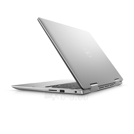 "Nešiojamas kompiuteris Dell Inspiron 14 5482 Silver, 14 "", IPS, Touchscreen, Full HD, 1920 x 1080 pixels, Intel Core i3, i3-8145U, 4 GB, DDR4, SSD 256 GB, Intel UHD, Windows 10 Home, 802.11ac, Keyboard language English, Keyboard backlit, Warranty 36 Paveikslėlis 3 iš 5 310820154499"