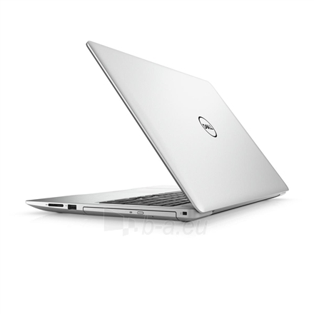 "Nešiojamas kompiuteris Dell Inspiron 15 5570 Silver, 15.6 "", Full HD, 1920 x 1080 pixels, Matt, Intel Core i7, i7-8550U, 8 GB, DDR4, HDD 1000 GB, 5400 RPM, SSD 128 GB, AMD Radeon 530, GDDR5, 4 GB, Tray load DVD Drive (Reads and Writes to DVD/CD), Li Paveikslėlis 1 iš 3 310820128338"