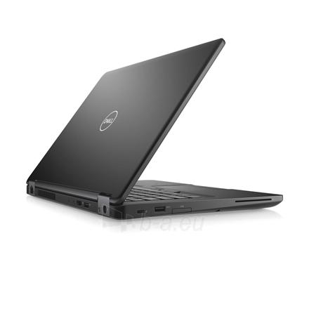 "Nešiojamas kompiuteris Dell Latitude 5490 Black, 14 "", Full HD, 1920 x 1080 pixels, Matt, Intel Core i7, i7-8650U, 8 GB, DDR4, SSD 256 GB, Intel UHD, Linux, 802.11ac, Bluetooth version 4.2, Keyboard language English, Keyboard backlit, Warranty Basic Paveikslėlis 1 iš 4 310820151351"