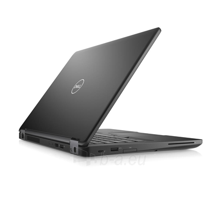 "Nešiojamas kompiuteris Dell Latitude 5490 Black, 14 "", Full HD, 1920 x 1080 pixels, Matt, Intel Core i5, i5-8250U, 8 GB, DDR4, SSD 256 GB, Intel UHD, Windows 10 Pro, 802.11ac, Bluetooth version 4.2, Keyboard language English, Russian, Keyboard backl Paveikslėlis 1 iš 4 310820151352"