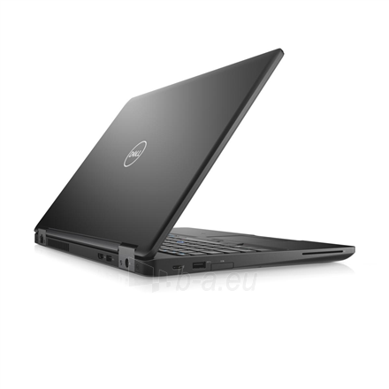 "Nešiojamas kompiuteris Dell Latitude 5590 Black, 15.6 "", Full HD, 1920 x 1080 pixels, Matt, Intel Core i5, i5-8250U, 8 GB, DDR4, SSD 256 GB, Intel UHD, No Optical drive, Windows 10 Pro, 802.11ac, Bluetooth version 4.2, Keyboard language English, Key Paveikslėlis 1 iš 5 310820152166"
