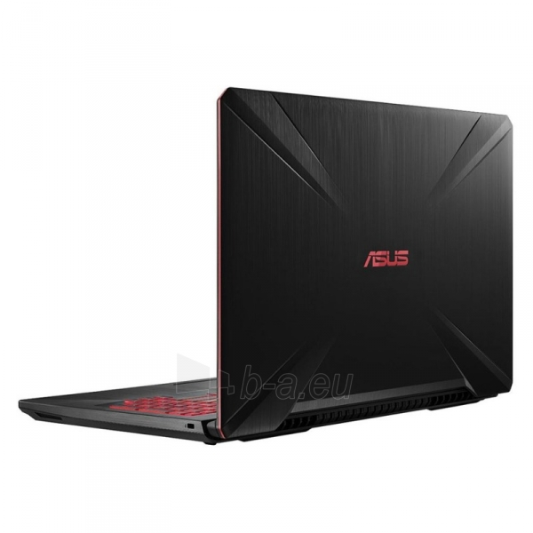 Nešiojamas kompiuteris FX504GE i7-8750H/15.6F120Hz/16/256+1T/1050Ti/W10P Paveikslėlis 3 iš 4 310820146204