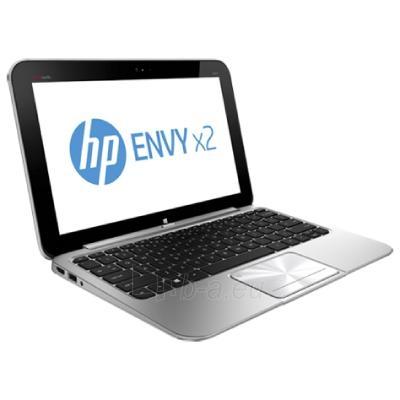 Klēpjdatoru HP ENVY X2 11-g001en hybrid tablet/IntelAtom Z2760/11.6 HD AG/cam/2GB/64GB eMMC Flash/Silver Aluminum Paveikslėlis 1 iš 4 250252201691