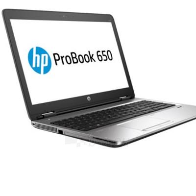 Nešiojamas kompiuteris HP ProBook 650 G2/UMA/i5-6200U/15.6 FHD SVA AG/8GB/1TB 5400/Intel 8260 AC 2x2+BT/SerialPort/FPR/DVD+-RW/ENGkey/W7p64W10p/1YW Paveikslėlis 1 iš 4 310820065774