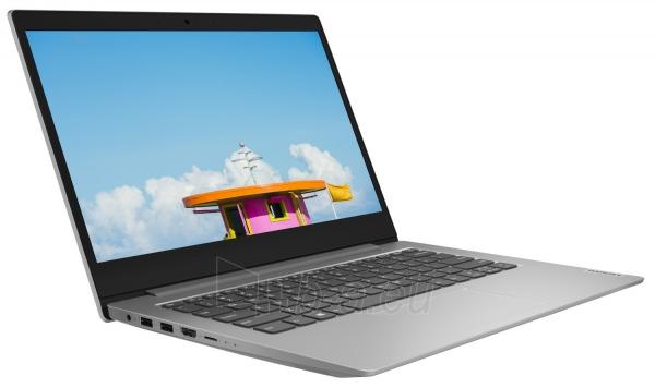 Nešiojamas kompiuteris Lenovo IdeaPad 1 14ADA05 14/AMD 3050E/4GB/SSD 128GB/Radeon Graphics/W10/ platinum grey (82-GW00-1A) Paveikslėlis 2 iš 3 310820253726