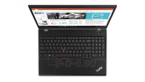 Nešiojamas kompiuteris Lenovo T580 15.6 FHD IPS i5-8250U 8GB 512SSD LTE 4+3cell MX150 FPR W10P 3Y CI Paveikslėlis 2 iš 8 310820136426