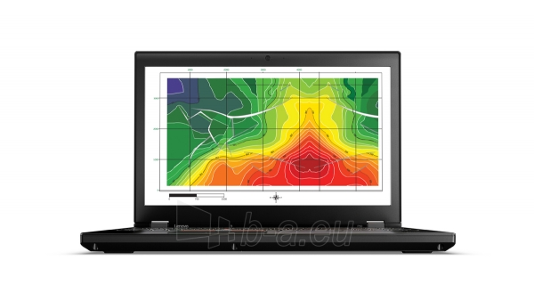 Nešiojamas kompiuteris LENOVO ThinkPad P50 E3-1535Mv5 Paveikslėlis 1 iš 1 310820022944