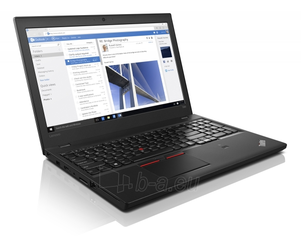 Nešiojamas kompiuteris LENOVO ThinkPad T560 i5-6200U Paveikslėlis 1 iš 1 310820023080