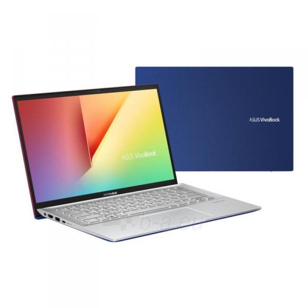 Nešiojamas kompiuteris S431FA Cobalt Blue i5-8265U/14F/8/256/i620/W10 Paveikslėlis 1 iš 3 310820216565