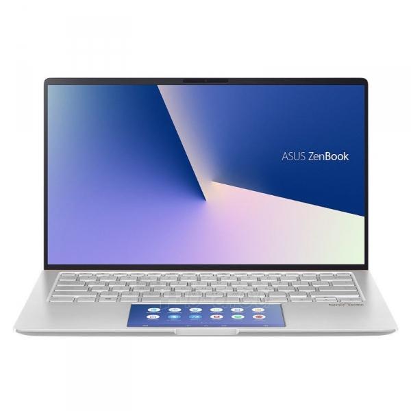 Nešiojamas kompiuteris UX434FLC Silver i7-10510U/14F/16/1TB/MX250/W10 Paveikslėlis 1 iš 4 310820216561